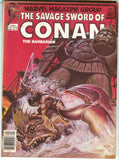 Savage Sword of Conan 80 Marvel 1982 VG FN Colossus Crab Monsters Earl Norem