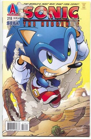 Sonic The Hedgehog 218 Archie 2010 NM Sega