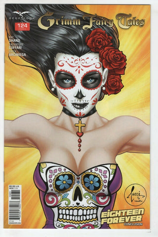 Grimm Fairy Tales 124 C Zenescope 2015 NM Billy Tucci Variant Day Of The Dead