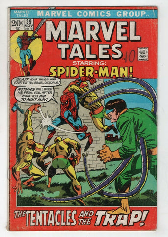 Marvel Tales 39 1972 FN Amazing Spider-Man 54 Dr Octopus John Buscema