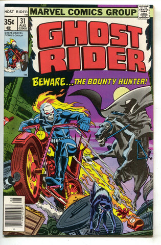 Ghost Rider 31 Marvel 1978 NM- Ernie Chan Doctor Strange