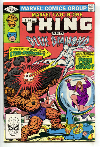 Marvel Two-In-One 79 1981 VF NM Thing Blue Diamond