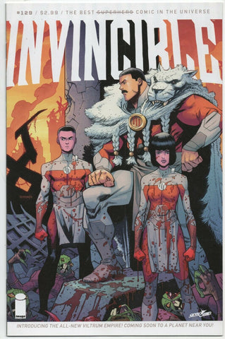 Invincible 129 Image 2016 NM+ 9.6 Robert Kirkman Ryan Ottley