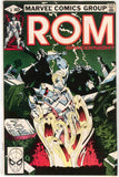 ROM Spaceknight 8 Marvel 1980 VF Bill Mantlo Sal Buscema Graveyard Tombstone