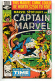 Marvel Spotlight 8 2nd Series 1980 VF NM Captain Marvel Frank Miller