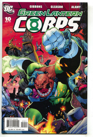 Green Lantern Corps 10 1st Series DC 2007 NM Guy Gardner Kilowag