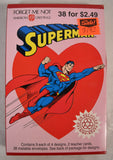 Superman American Greetings Valentine's Day Cards DC 1992 New Sealed