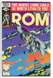 ROM Spaceknight 10 Marvel 1980 VF NM Bill Mantlo Sal Buscema Michael Golden