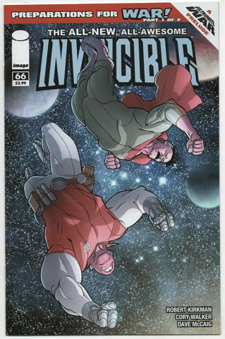 Invincible 66 Image 2009 NM+ 9.6 Robert Kirkman Ryan Ottley