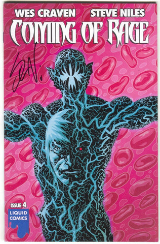 Coming Of Rage 4 A Liquid 2015 VF NM Wes Craven Signed Steve Niles