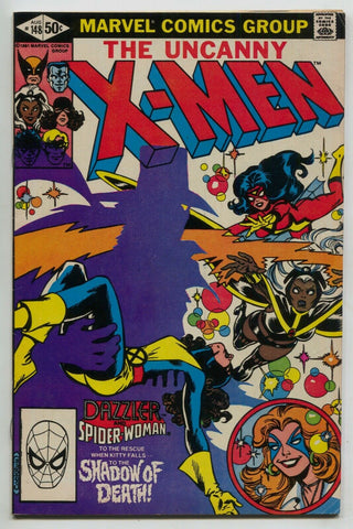 Uncanny X-Men 148 Marvel 1981 FN VF 1st Caliban Dazzler Spider-Woman Wolverine