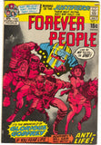 Forever People 3 1st Series DC 1971 GD VG Jack Kirby Darkseid