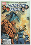 Fantastic Four 570 A Marvel 2009 NM Signed Jonathan Hickman