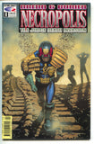 Judge Dredd & Buried Necropolis Death Invasion 8 Fleetway 1992 NM