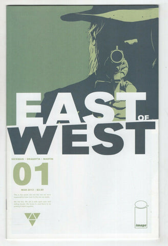 East Of West 1 A Image 2013 FN Jonathan Hickman 1st Print
