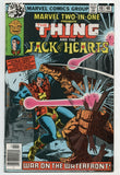 Marvel Two-In-One 48 1979 VF Thing Jack Of Hearts Yancy Street Gang