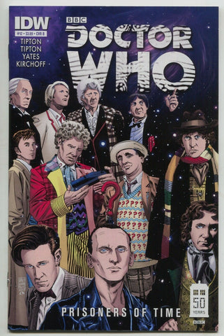 Doctor Who Prisoners Of Time 12 B IDW 2013 NM 1:10 Dave Sim Variant BBC