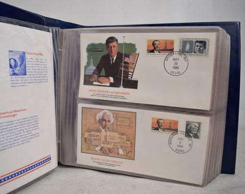 Shapers Of America Stamp Collection 120 Envelopes 240 stamps