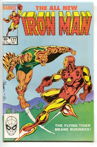 Invincible Iron Man 177 Marvel 1983 NM- Luke Cage Iron Fist Optical Illusion
