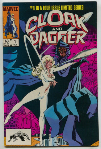 Cloak And Dagger 1 Marvel 1983 NM Spider-Man Rick Leonardi