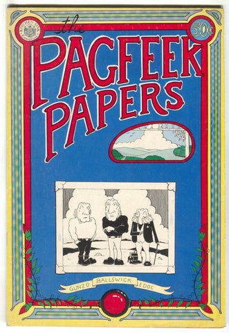 Pagfeek Papers 1 Kitchen Sink 1973 FN Mark Morrison