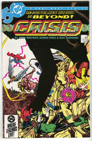 Crisis On Infinite Earths 2 DC 1985 NM Marv Wolfman Superman JLA