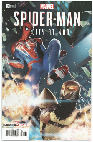 Spider-Man City At War 3 Marvel 2019 NM 1:25 Gang Hyuk Lim Variant