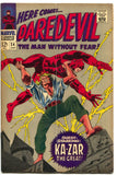 Daredevil 24 1st Series Marvel 1967 FN Stan Lee Gene Colan Ka-Zar