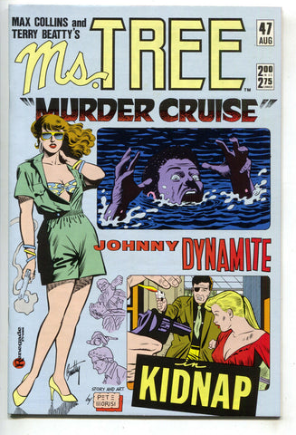 Ms. Tree 47 Renegade 1988 NM- Johnny Dynamite Murder Cruise Ship Swimsuit