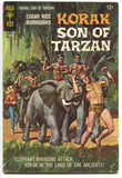Korak Son Of Tarzan 19 Gold Key 1967 VG Elephant Bondage Cover