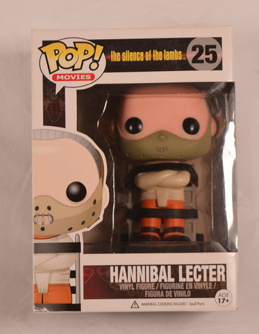 Silence Of The Lambs Hannibal Lecter Pop Movies Vinyl Figure 25 NIB