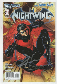 Nightwing 1 A DC 2011 FN VF 1st Print New 52 Batman Signed Kyle Higgins