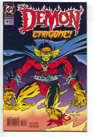 Demon 58 DC 1995 NM- Garth Ennis Jason Blood Final Issue