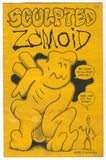 Sculpted Zomoid 24 Ray Zone Production 1985 FN Dennis Worden