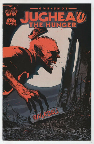 Jughead The Hunger One Shot 1 Archie 2017 NM Francesco Francavilla Variant