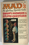 Mad Al Jaffee Spews Out Snappy Answers Paperback Book Signet Magazine 4th Print