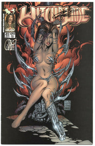 Witchblade 41 Image 2000 VF Signed Marc Silverstri