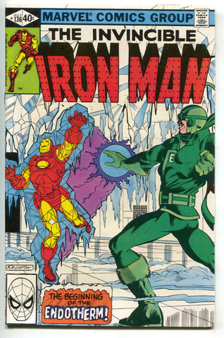 Invincible Iron Man 136 Marvel 1980 VF NM Bob Layton