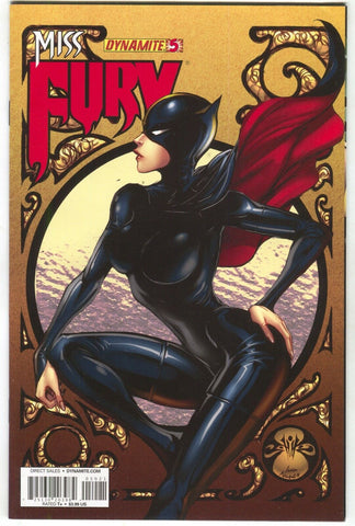 Miss Fury 5 B Dynamite 2013 VF NM Joe Benitez Pin-Up Variant