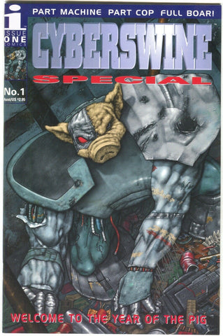 Cyberswine Special Year Of The Pig 1 Issue One 1995 NM Signed Max Autohead