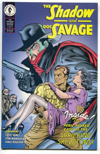 The Shadow And Doc Savage 1 Dark Horse 1995 VF NM