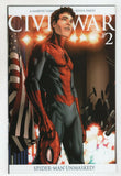 Civil War 2 D Marvel 2006 VF NM Spider-Man Unmasked Steve McNiven Variant