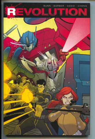 Revolution 1 TPB IDW 2017 NM 0 1 2 3 4 5 Transformers GI Joe ROM Action Man