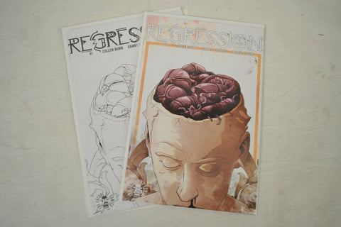 Regression 1 Image 25th Anniversary Box Variant Color Sketch Set 2