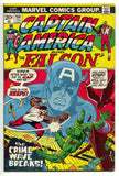 Captain America 158 Marvel 1973 FN Falcon Pink Panther Jetsons Underdog TV Ad