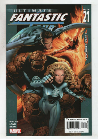Ultimate Fantastic Four 21 A 2005 NM- Mark Millar Greg Land 1st Marvel Zombies