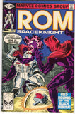 ROM Spaceknight 6 Marvel 1980 VF Bill Mantlo Sal Buscema