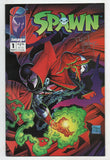 Spawn 1 Image 1992 NM- Signed Todd McFarlane Golden Apple Comics COA
