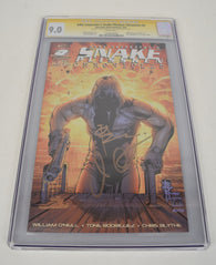 Snake Plissken Chronicles 2 CGC SS 9.0 NM Signed John Carpenter Rodriguez