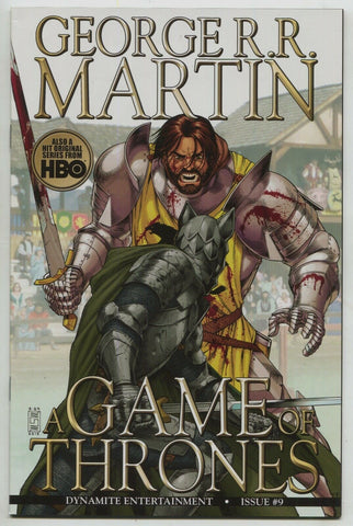 Game Of Thrones 9 A Dynamite 2012 NM- Goerge RR Martin Mike Miller
